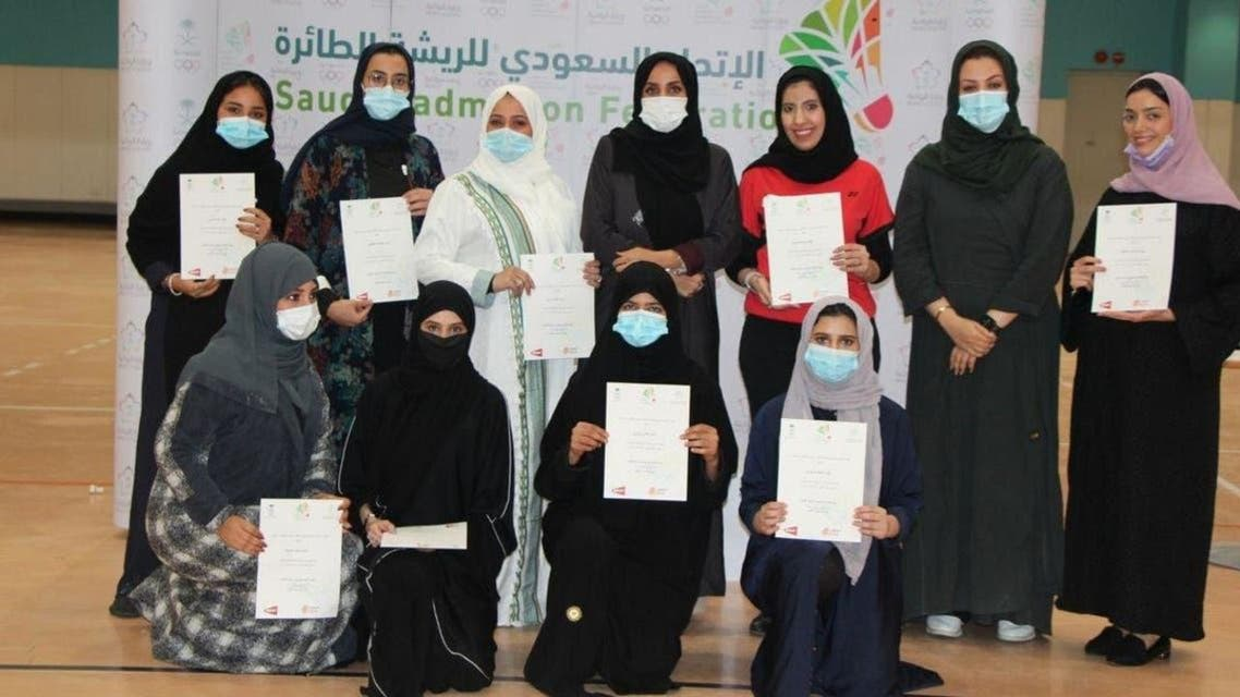 saudi women badminton Championship