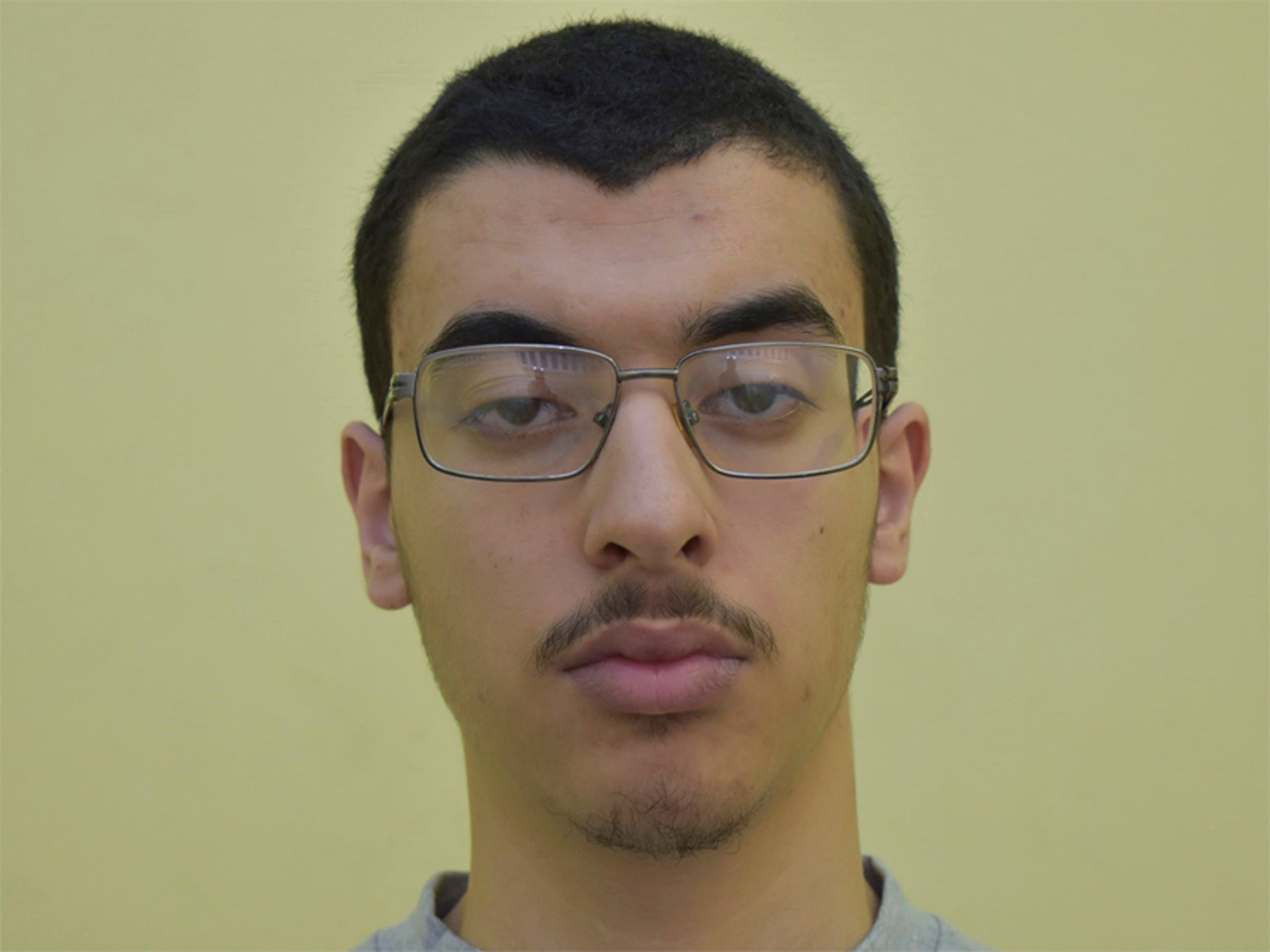 Undated file photo issued by Greater Manchester Police, of Hashem Abedi. (Greater Manchester Police via The Associated Press)