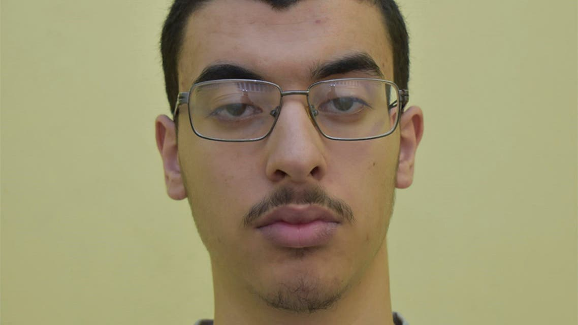 Undated file photo issued by Greater Manchester Police, of Hashem Abedi, younger brother of the Manchester Arena bomber Salman Abedi. (Greater Manchester Police via The Associated Press)