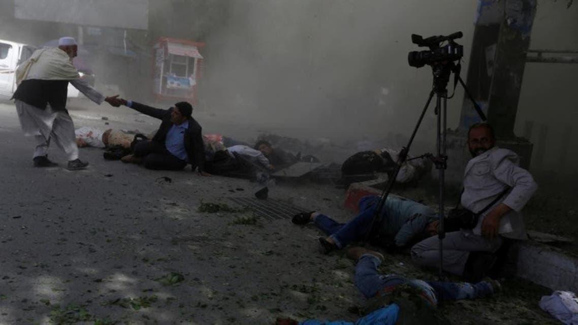 حمله بر خبرنگاران افغان 2018