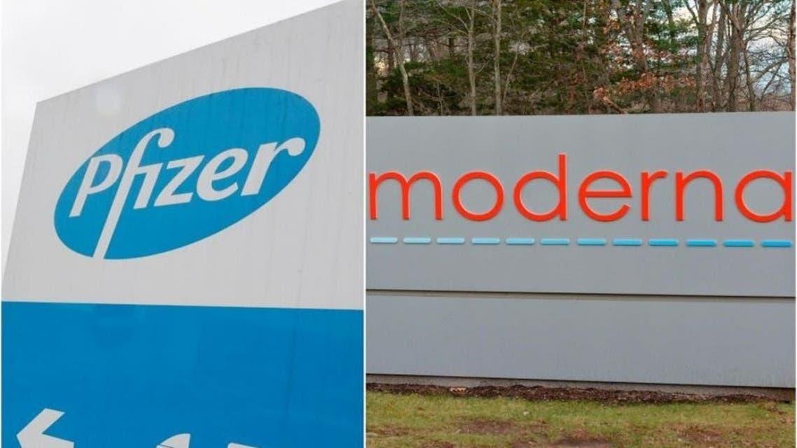 Pfzer and Moderna