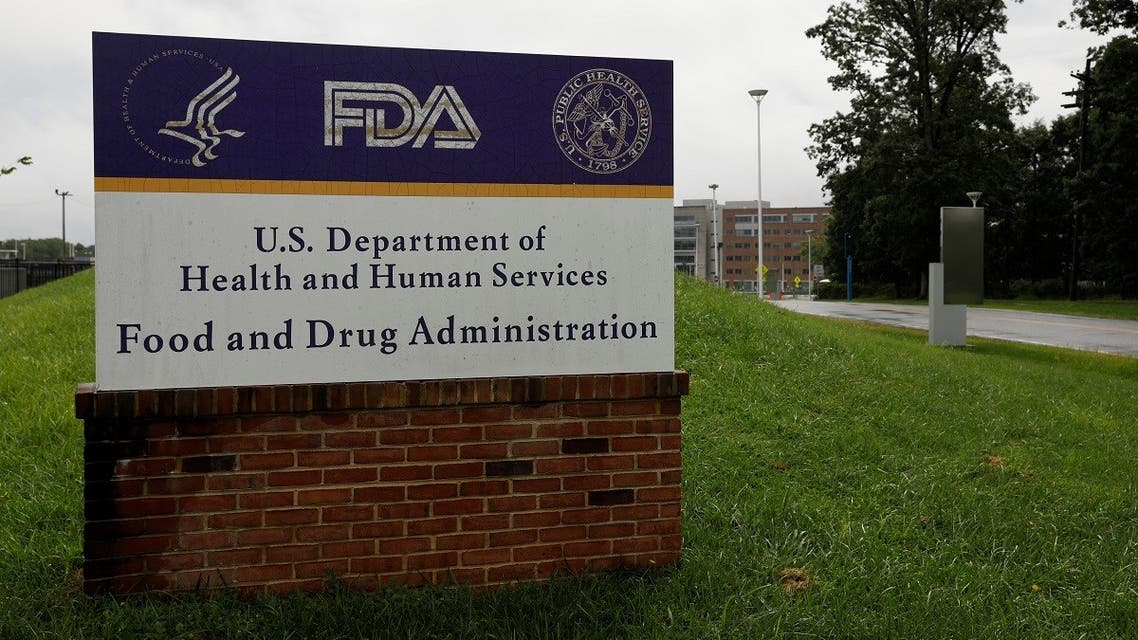Signage is seen outside of the Food and Drug Administration (FDA) headquarters in White Oak, Maryland, US, August 29, 2020. (Reuters/Andrew Kelly)