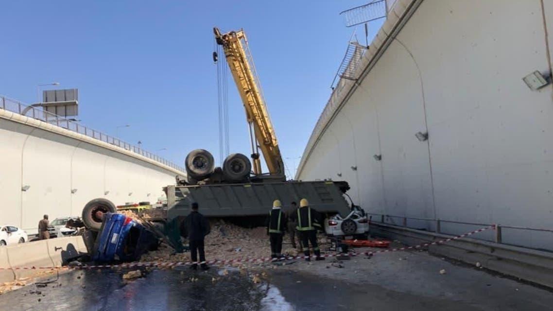 Saudia Arabia Riyadh Road Accident