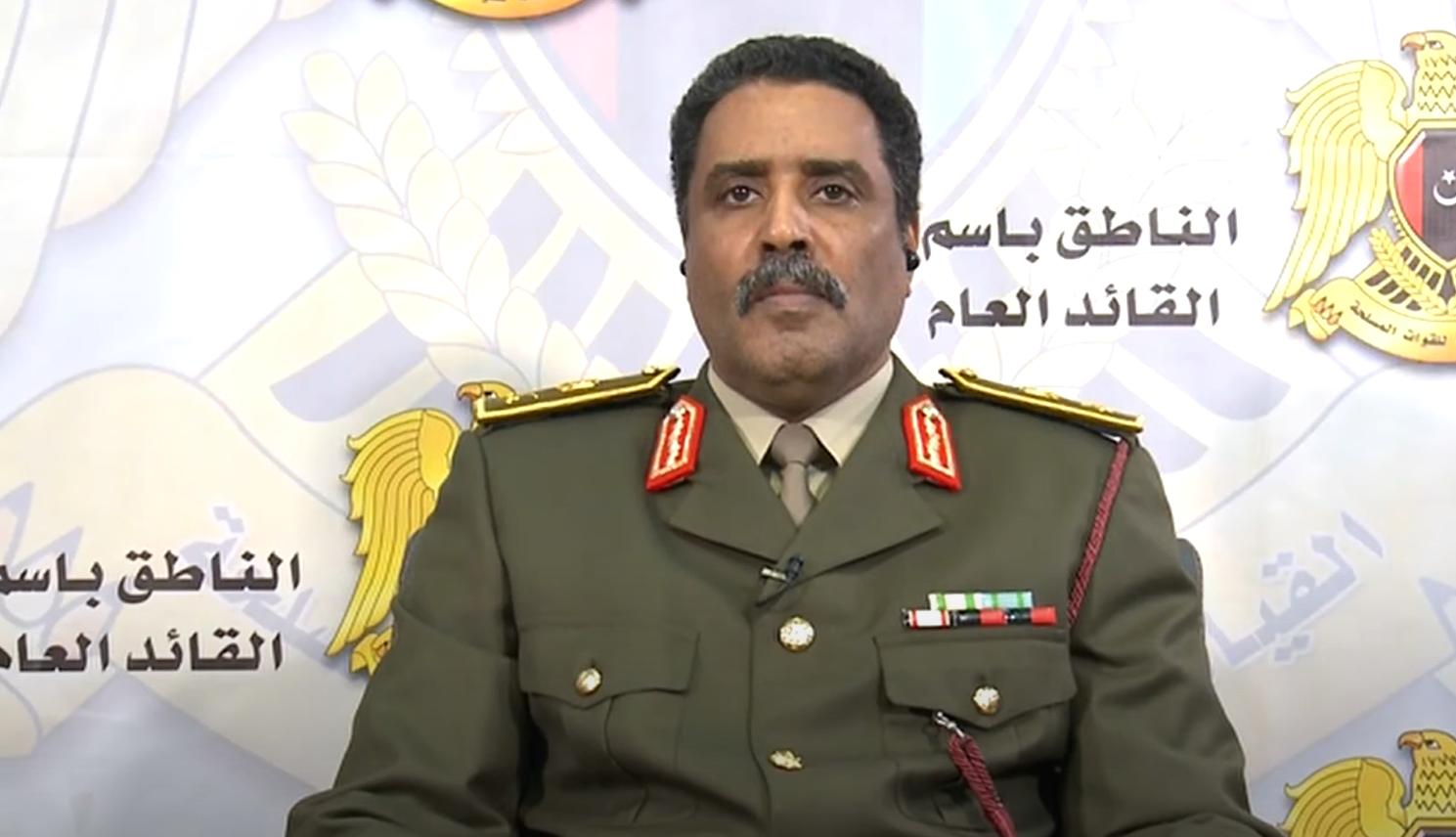 العميد أحمد المسماري الناطق باسم الجيش الوطني الليبي
