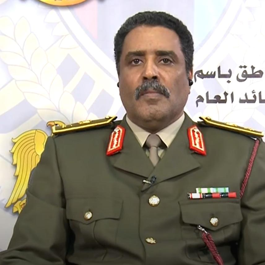 المسماري: الجيش الليبي في حرب منذ سنوات مع