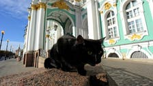 French doctor leaves 'fortune' to nearly 70 cats at Russia's Hermitage museum