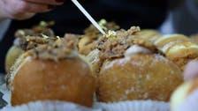Israelis line up for 'Abu Dhabi' doughnut in Jerusalem