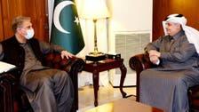 پاکستان میں سعودی سفیر کی وزیر خارجہ شاہ محمود قریشی سے ملاقات