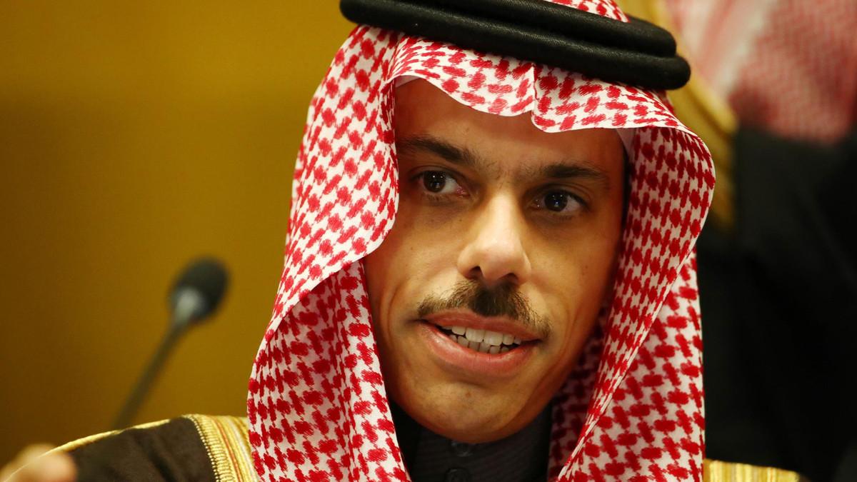Saudi Foreign Minister Faisal bin Farhan