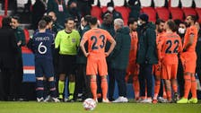 استئناف مباراة باريس وباشاك شهير بطاقم تحكيمي جديد