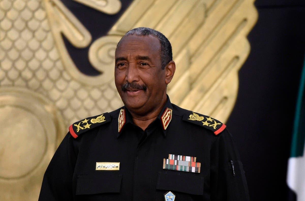 رئيس المجلس السيادي السوداني عبدالفتاح البرهان (أرشيفية)