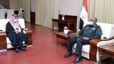 سعودی عرب کی طرف سے سوڈان کی حمایت پر خودمختار کونسل کے سربراہ کا خیرمقدم