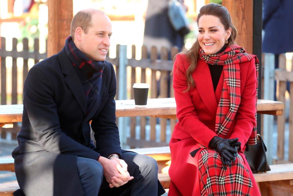 الثنائي الملكي كايت وويليام