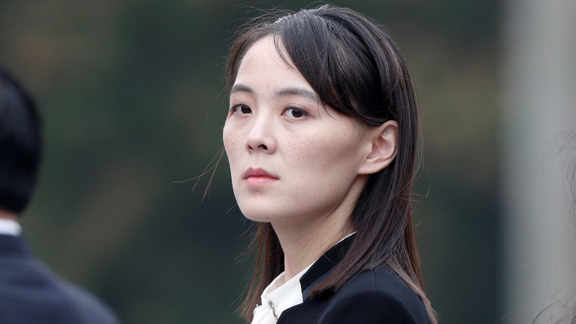 Kim Yo Jong, sister of North Korea's leader Kim Jong Un attends wreath laying ceremony at Ho Chi Minh Mausoleum in Hanoi, Vietnam March 2, 2019. (Reuters)