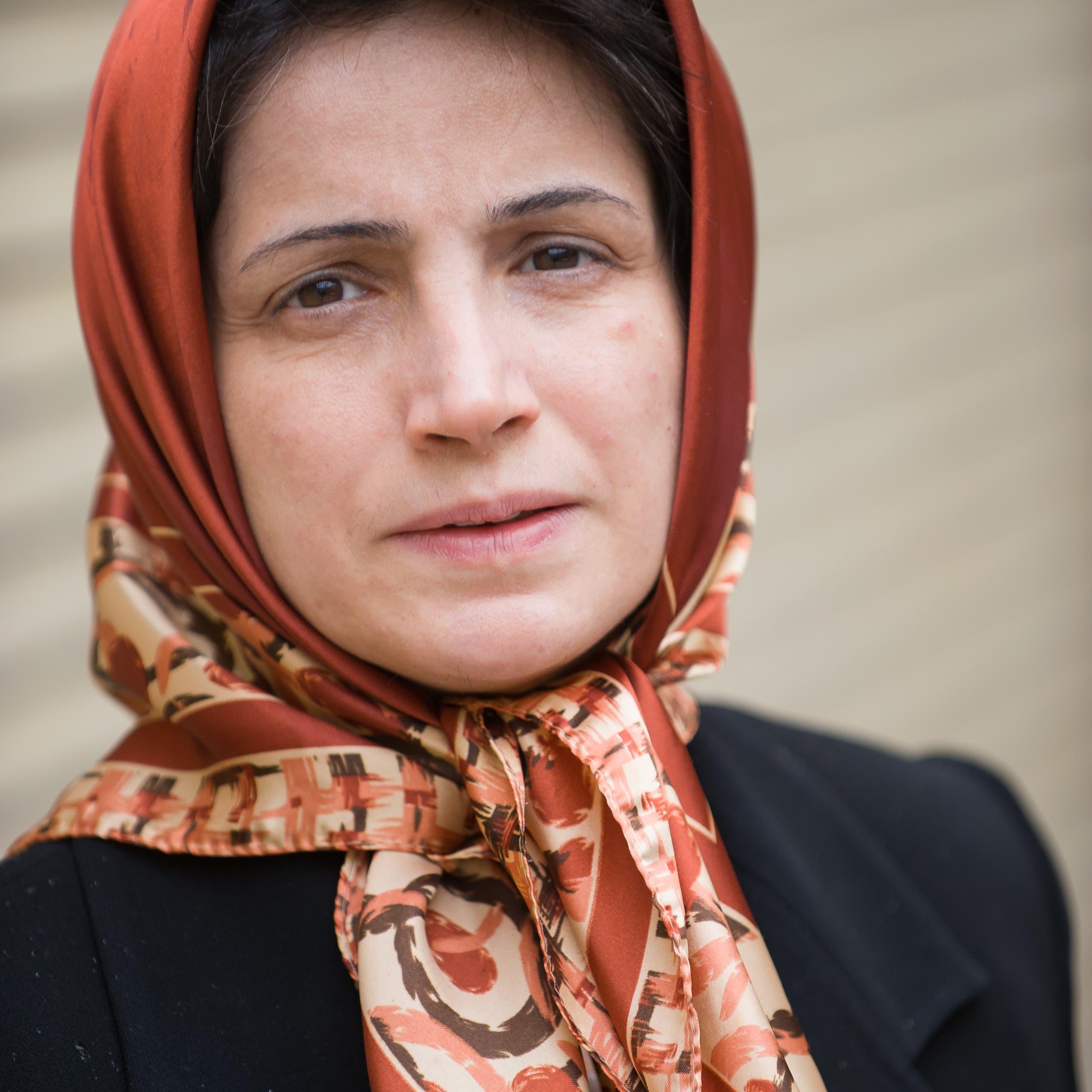 المعتقلة الإيرانية نسرين ستوده تفوز بجائزة روزفلت