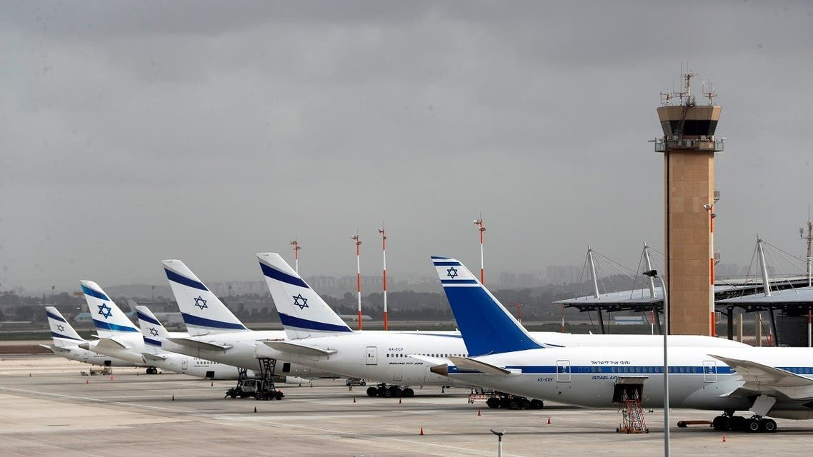 El Al Israel Airlines planes are seen on the tarmac at Ben Gurion International airport in Lod, near Tel Aviv. (File photo: Reuters)