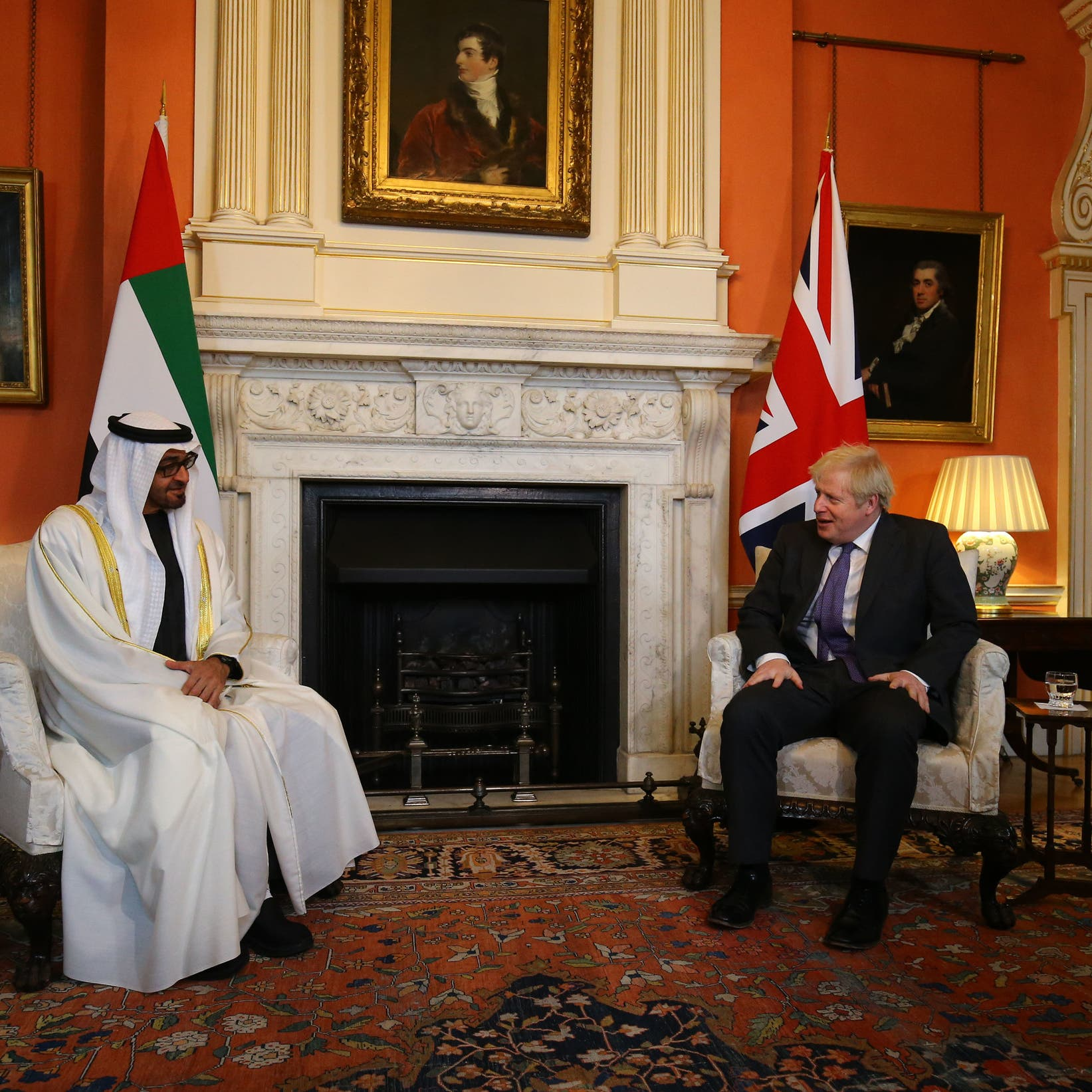 لقاء إماراتي بريطاني يبحث العلاقات الثنائية وقضايا المنطقة