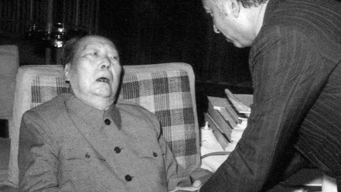 صورة لماو تسي تونغ أواخر حياته