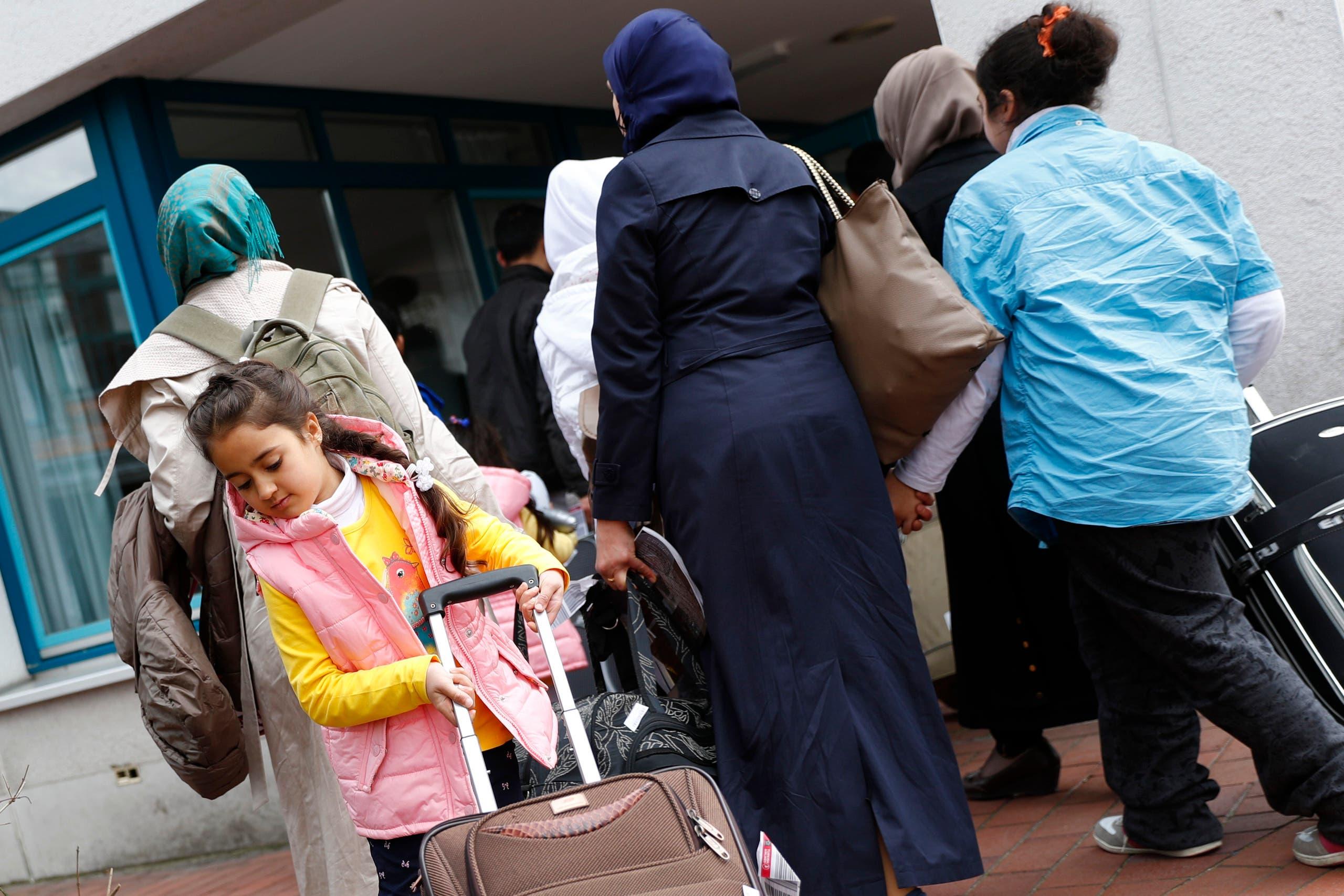 لاجئون سوريون في ألمانيا (أرشيفية)