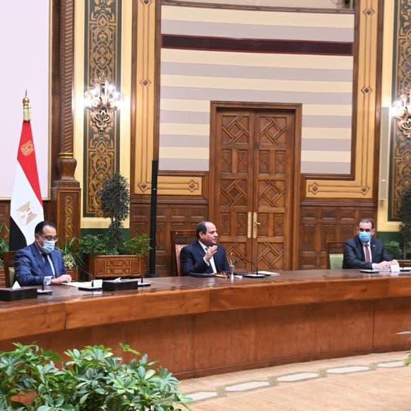 السيسي يوجه بسرعة تنفيذ المشروعات المشتركة مع العراق