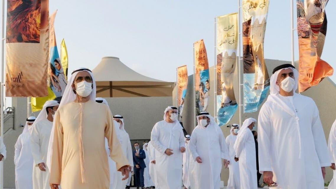 Sheikh Mohammed bin Rashid, World's Coolest Winter (Via @HHShkMohd on Twitter)
