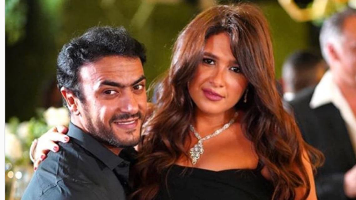 ياسمين عبدالعزيز والعوضي