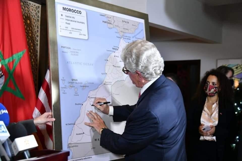 سفير أميركا: واشنطن تعتمد خريطة للمغرب تضم الصحراء