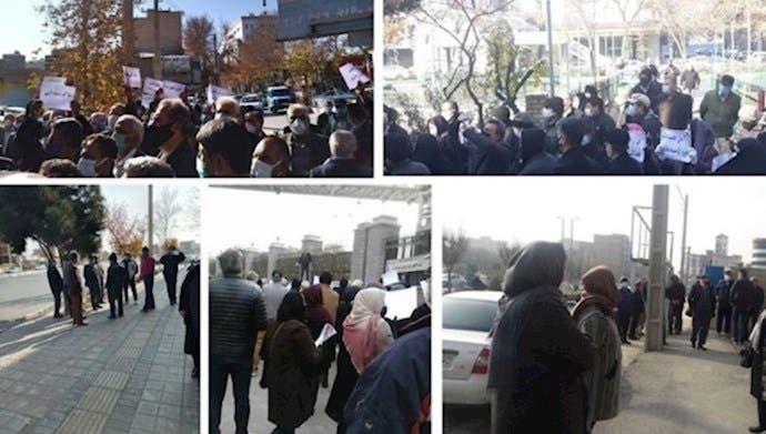 احتجاجات مختلفة