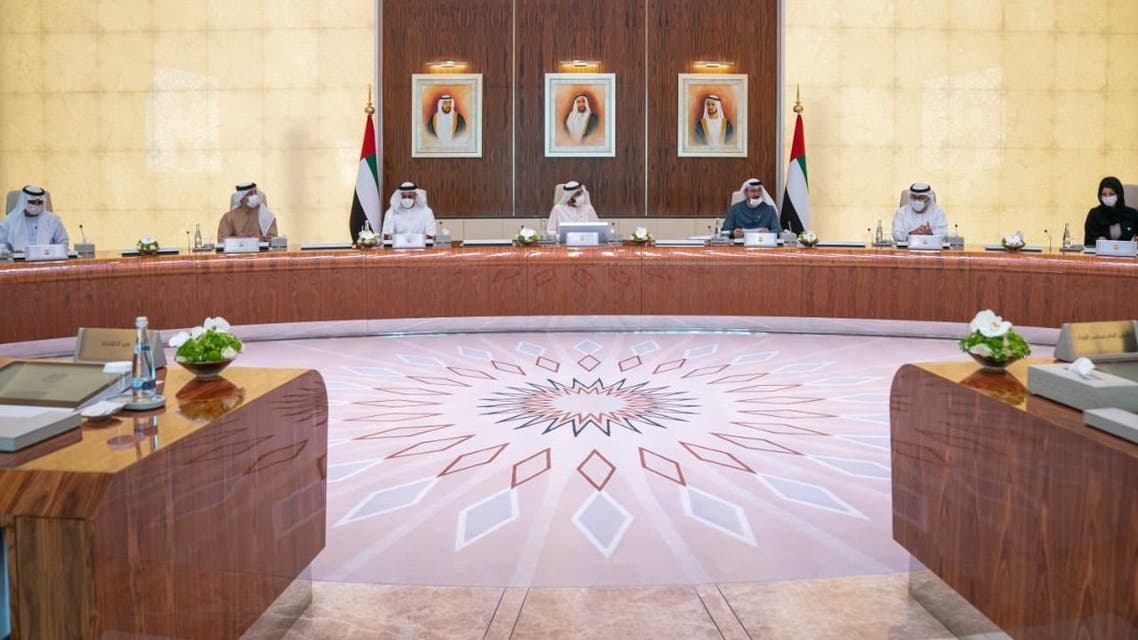 The formation of the UAE's new government departments was announced on Monday. (Sheikh Mohammed via Twitter)