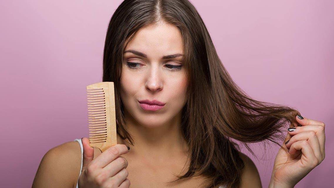 تشابك الشعر