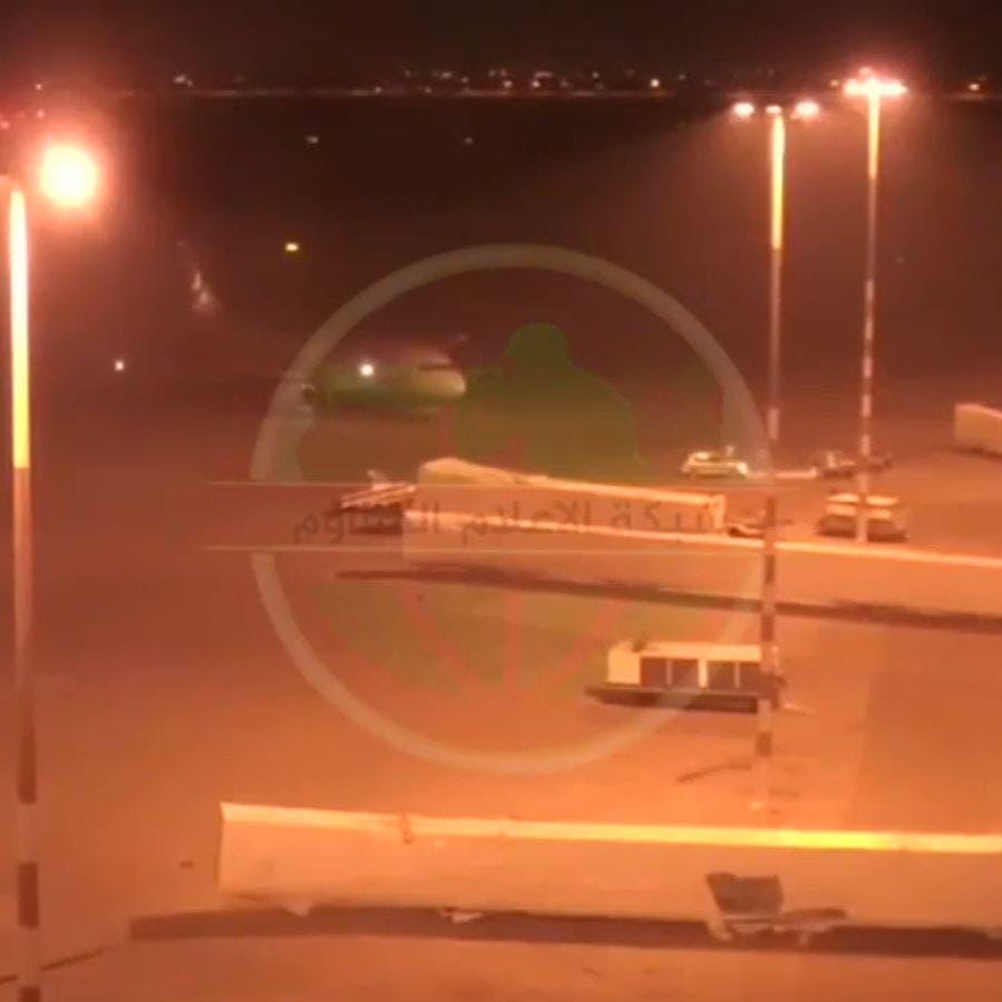 قبل اغتياله بـ7 دقائق.. فيديو ينشر لأول مرة لوصول طائرة سليماني لبغداد