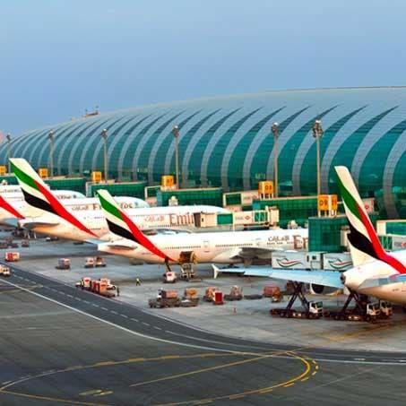 مطار دبي يستقبل 5.75 مليون مسافر بالربع الأول 2021