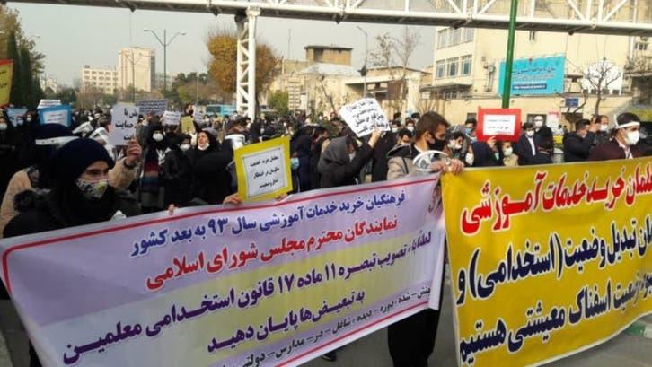 وضع متردٍّ وبطالة.. إيران تشهد 14 تجمعاً احتجاجياً خلال يوم