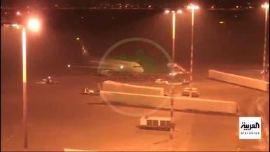 فيديو ينشر لأول مرة لوصول طائرة سليماني لبغداد