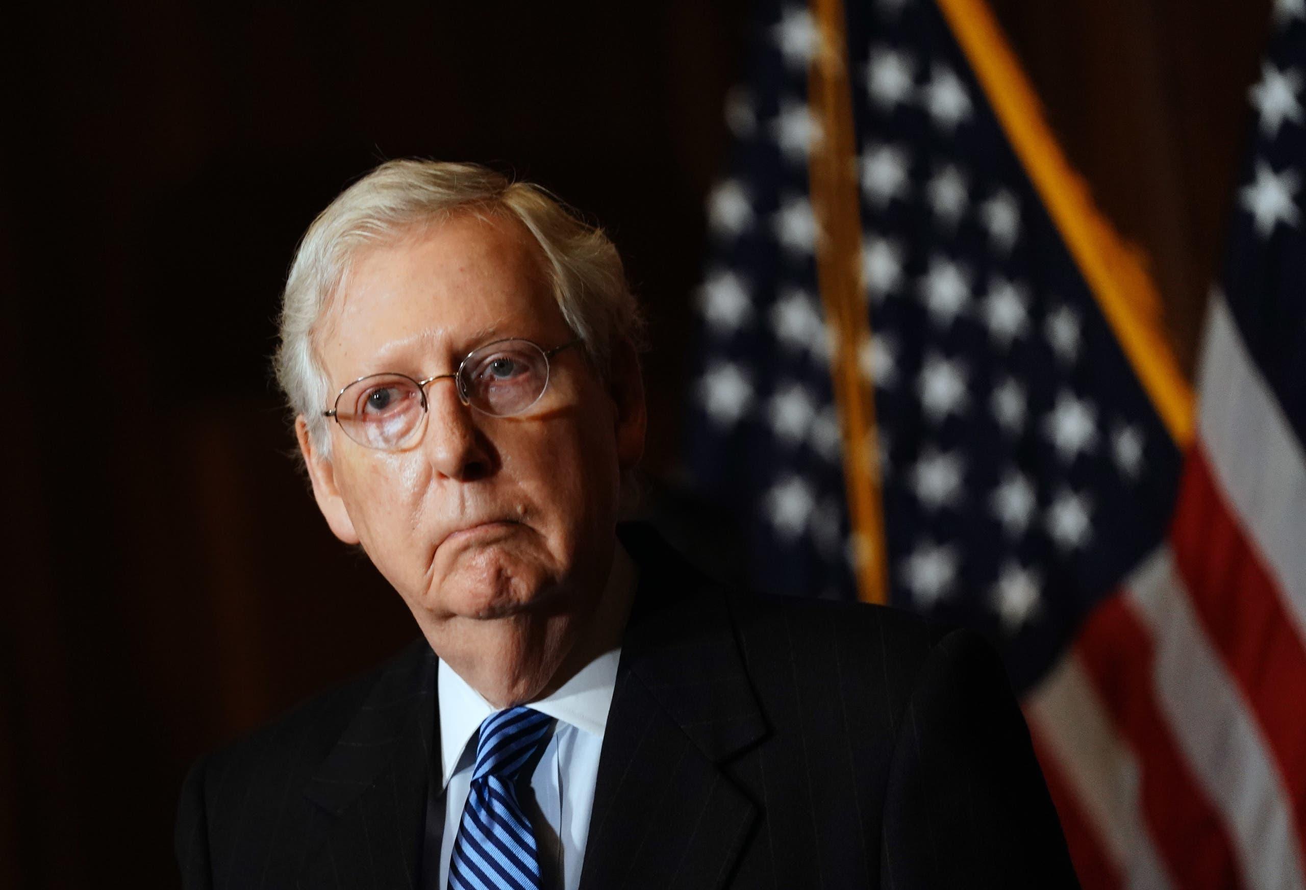 میچ مک کانل رهبر اکثریت مجلس سنا