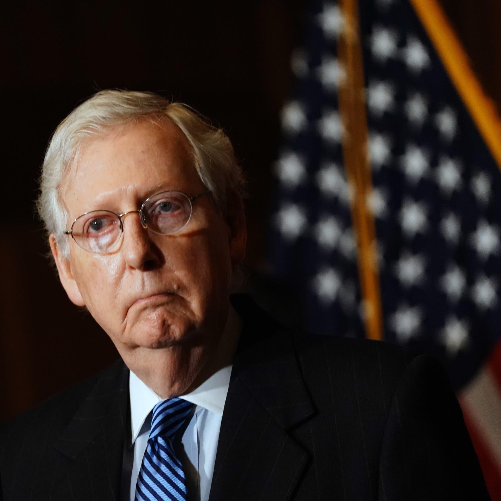 زعيم الجمهوريين بالشيوخ يهنئ بايدن: لدينا رئيس منتخب