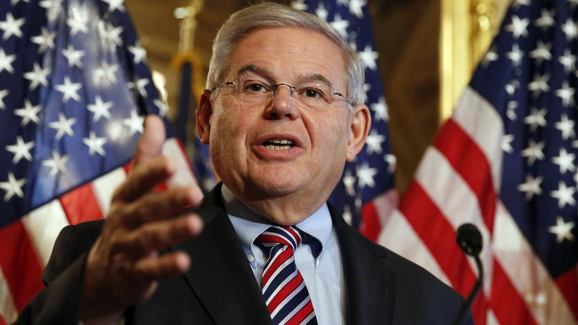 السيناتور الديموقراطي بوب ميننديز Senator Bob Menendez