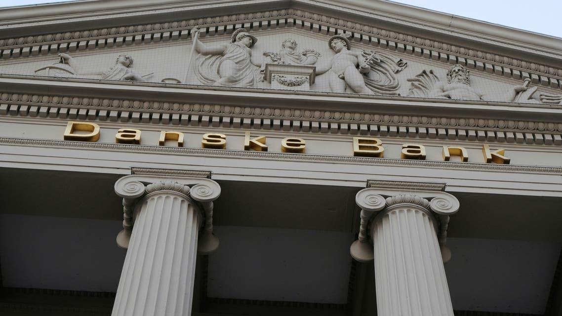 Danske bank signs are seen on a bank's headquarters in Copenhagen, Denmark October 22, 2019. (Reuters/Nikolaj Skydsgaard)