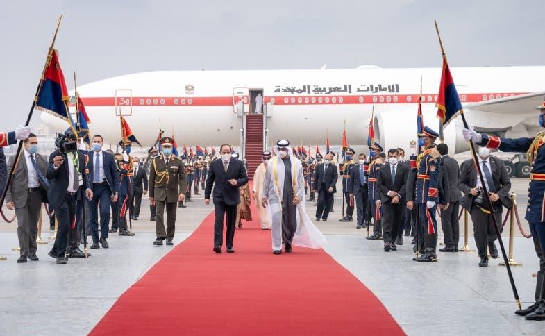 الرئيس المصري وولي عهد أبو ظبي 16 ديسمبر في القاهرة