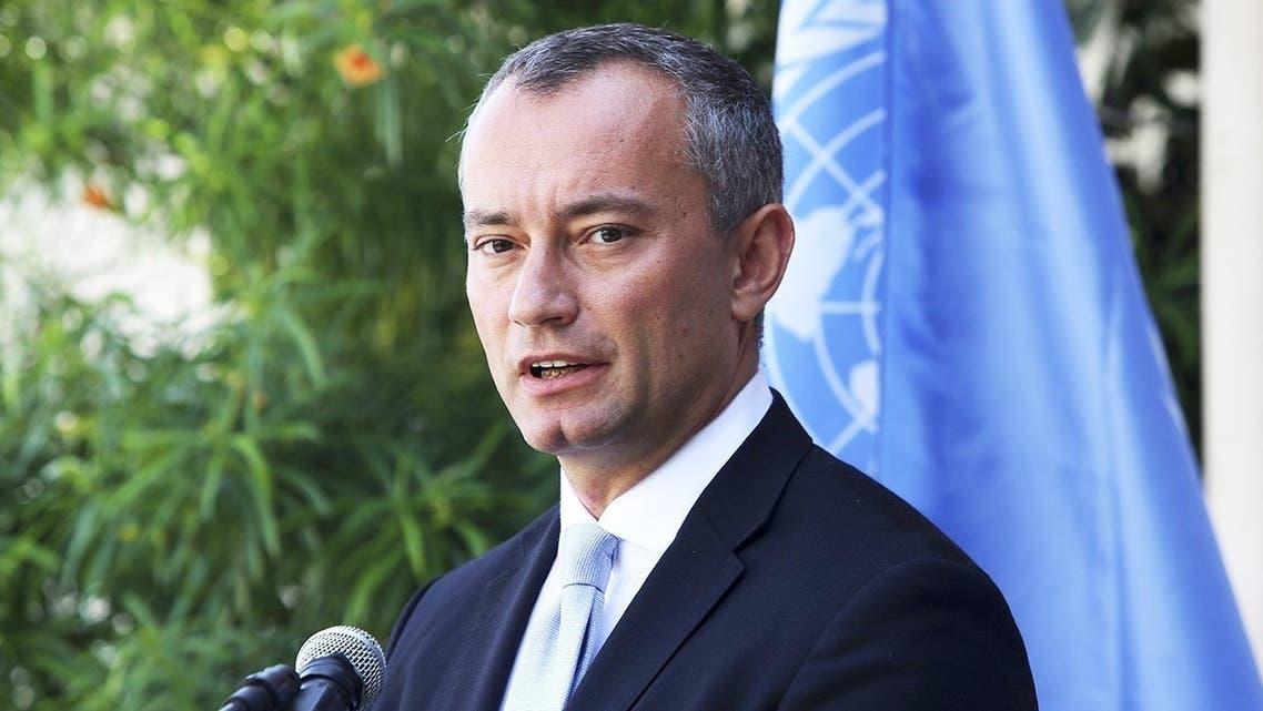 المبعوث الأممي إلى ليبيا نيكولاي ملادينوف