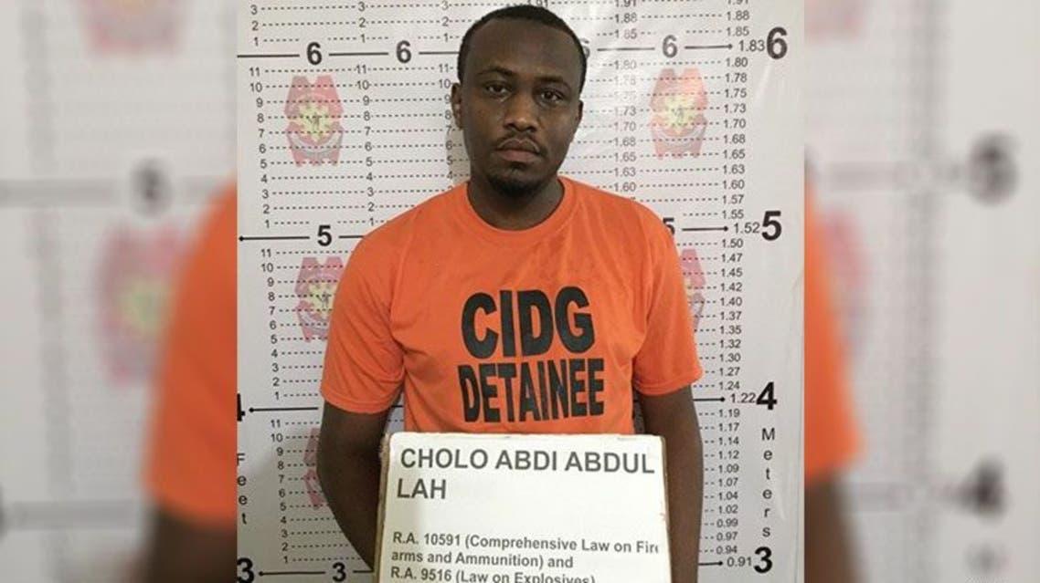 Suspected al-Qaeda member Cholo Abdi Abdullah. (Supplied: Philippines CIDG)