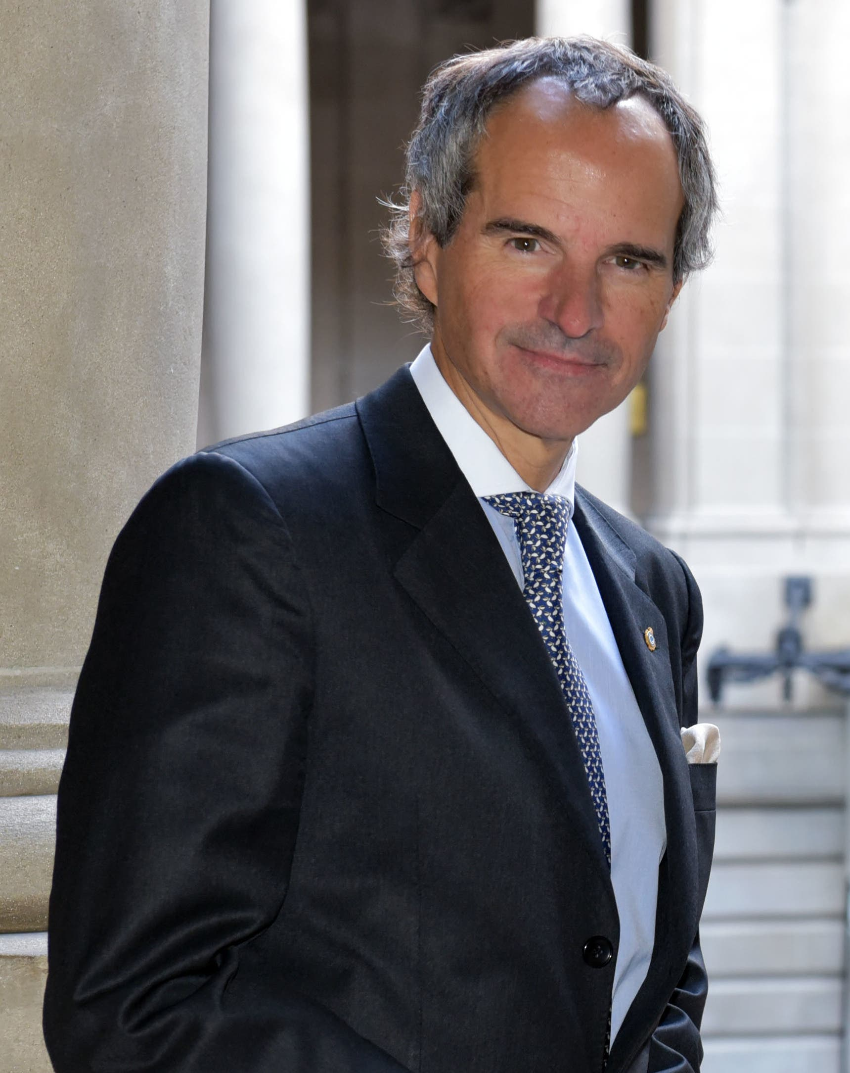 رافاييل غروسي المدير العام للوكالة الدولية للطاقة الذرية