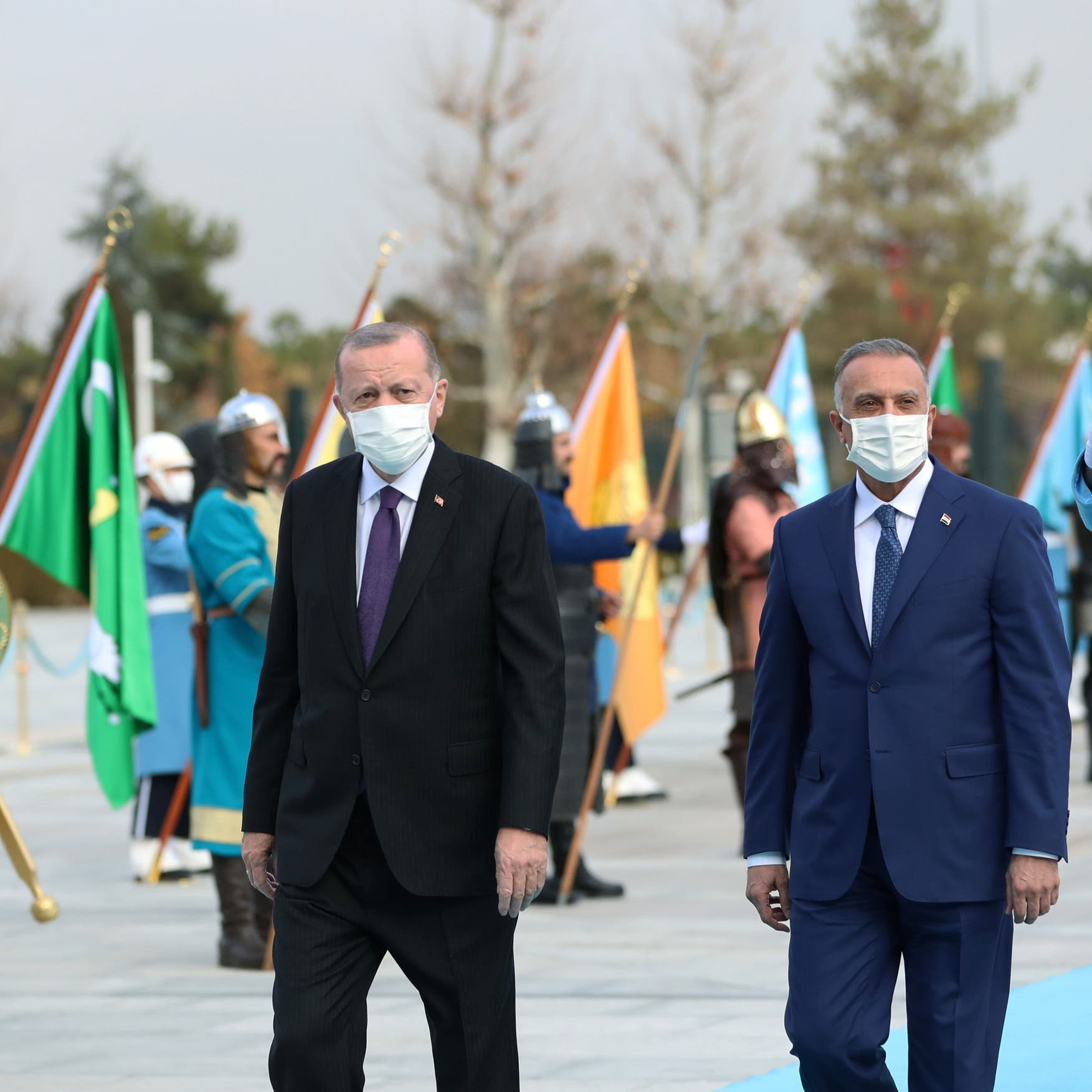 ملف سيادة العراق يتصدر مباحثات الكاظمي في تركيا