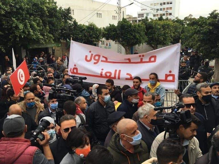 من مظاهرات بتونس