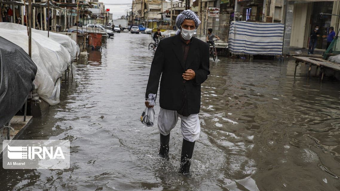 تکرار آبگرفتگی معابر اهواز و شهرهای اطراف پس از بارندگی
