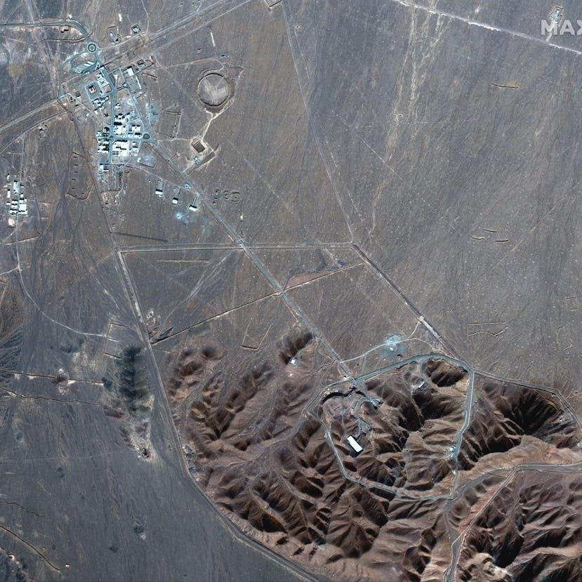 عمليات بناء بمنشأة نووية إيرانية.. وصور أقمار صناعية تفضحها