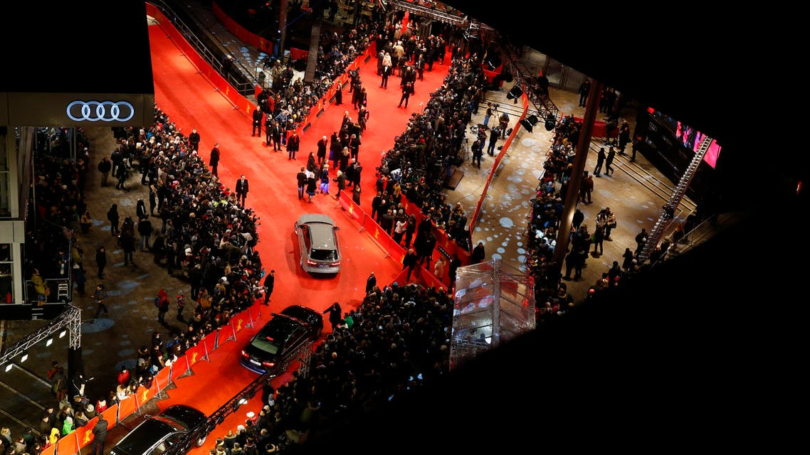 General view of guests arriving for the screening of the movie 'Nobody Wants the Night', during the opening gala of the 65th Berlinale International Film Festival, in Berlin February 5, 2015. (Reuters/Pawel Kopczynski)