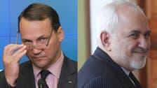 Former Polish FM Sikorski likens Iran's Zarif to 'smiling' Nazi Germany's Ribbentrop