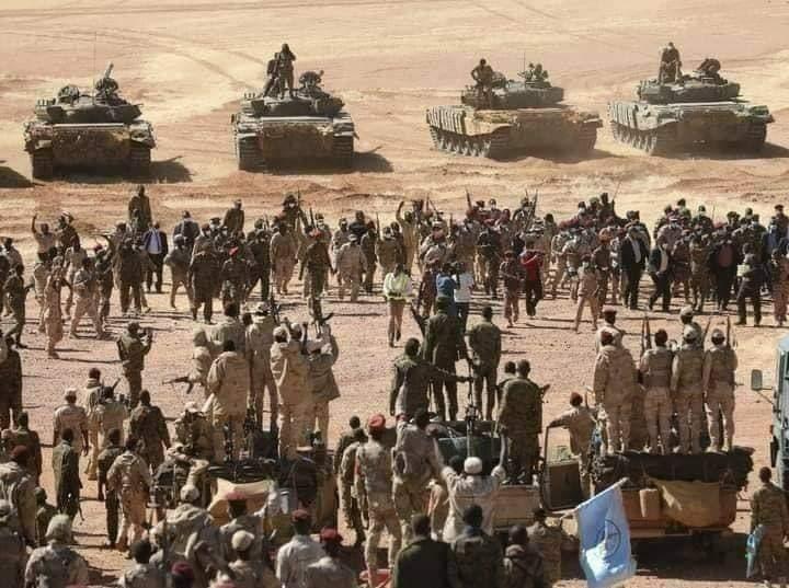 من تعزيزات الجيش السوداني على الحدود مع إثيوبيا