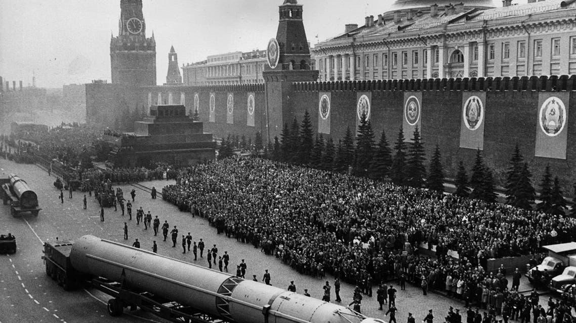 صورة لأحد الصواريخ السوفيتية العملاقة - Copy